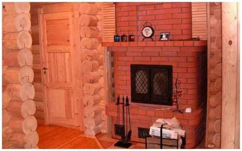 Дизайн печей в домах фото