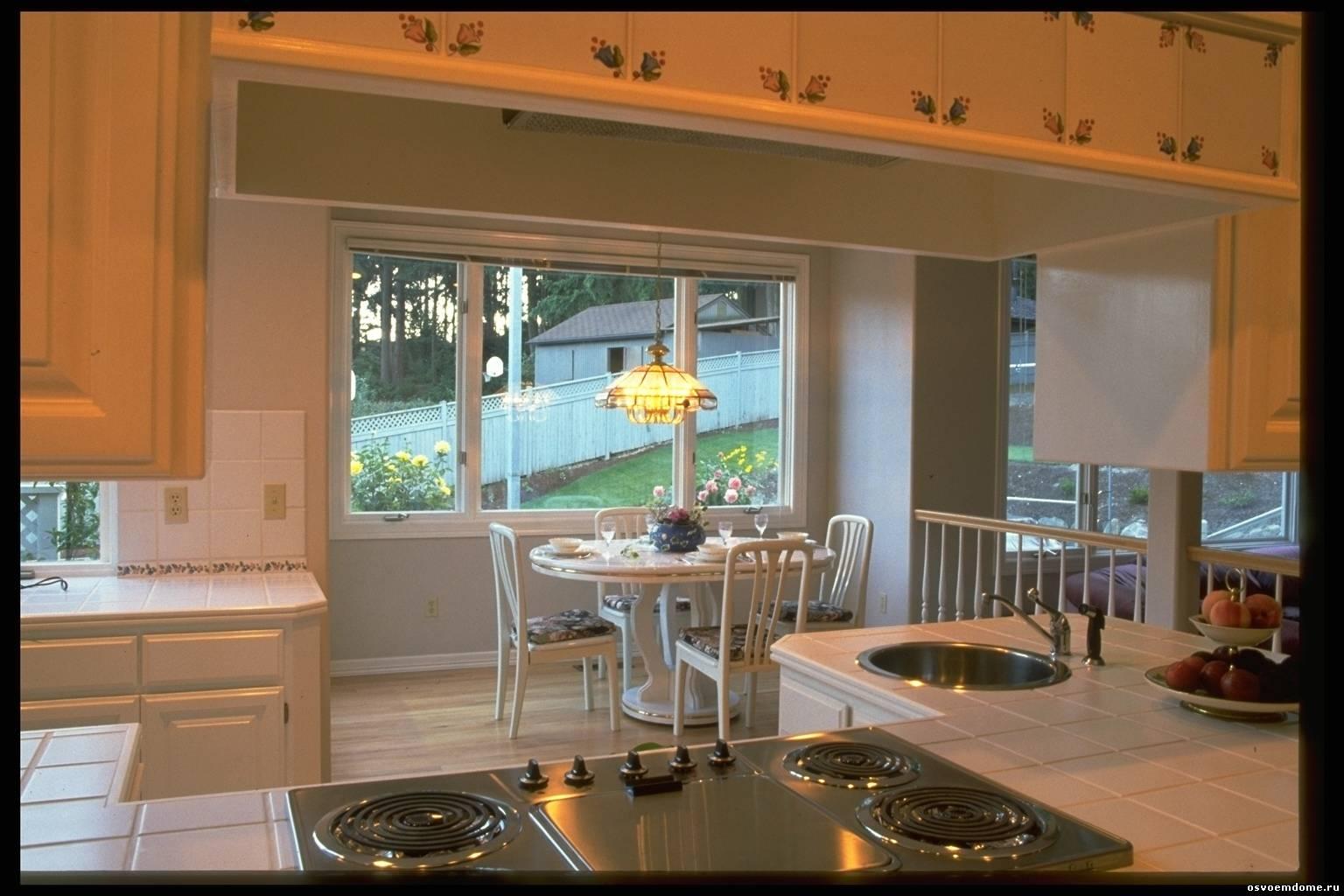 Новейший дизайн кухни в частном доме