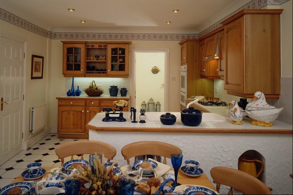 Интерьер в кухне своими руками